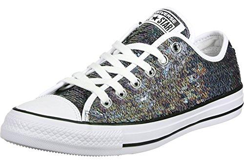 Converse All Star Ox W Scarpa Gunmetal/ White/ Black