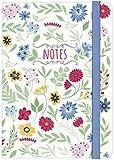 moses. 80470 Papier&Feder Notizbuch Notes DIN A5, 160 Seiten, liniert
