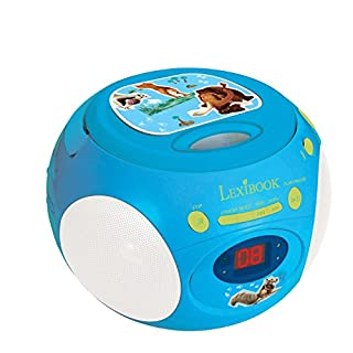 Lexibook RCD102IA Ice Age Boombox Kinder Sid Manny Diego Radio CD-Player