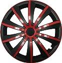 GRAL Rot/Schwarz - 15 Zoll, passend für fast alle VW z.B. für Golf 7