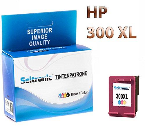 Preisvergleich Produktbild 1x Drucker Patrone Seitronic für HP 300XL Farbig DESKJET F2420 F2423 F2430 F2440