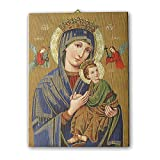 Holyart Tela pittorica Quadro Madonna del Perpetuo Soccorso 40x30 cm