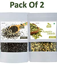 Chia Seeds & Pumpkin Seeds (Pack of 2) Each 300g