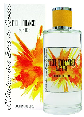 L'Atelier des Bois de Grasse Cologne de Luxe Fleur d'Oranger Baie de Rose 200 ml