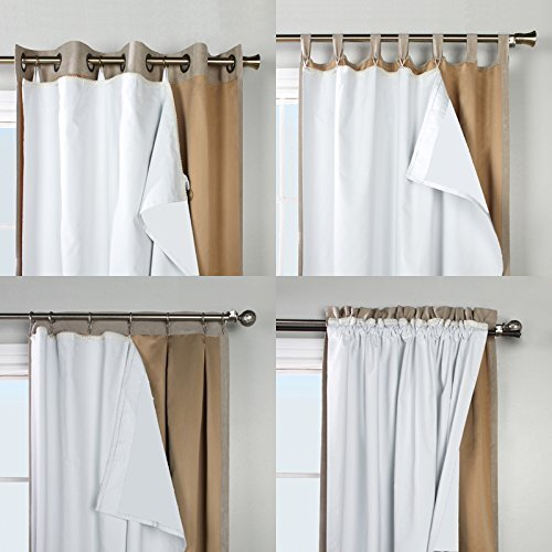 ThermaPlus Commonwealth Home Fashions Superior Liner Verdunkelungsvorhang 45