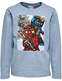 Lego Wear Ninjago Tony 714, T-Shirt Garçon