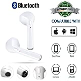 I7s TWS TWINS Wireless Earbuds Mini Bluetooth(Dual L/R) True Wireless Earbuds Mini Bluetooth V4.2+EDR (1 Connect 2 Function Support) Stereo Headset Sports Headphone With Charging Power Dock Compatible With Any Bluetooth Enabled Devices.Iphone And Android