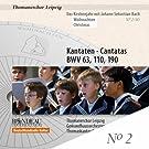 Kantaten zu Weihnachten - Das Kirchenjahr mit Johann Sebastian Bach