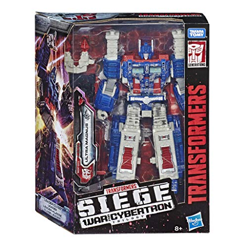 Transformers Generation - Robot Leader Ultra Magnus Camion 30cm - Jouet transformable 2 en 1