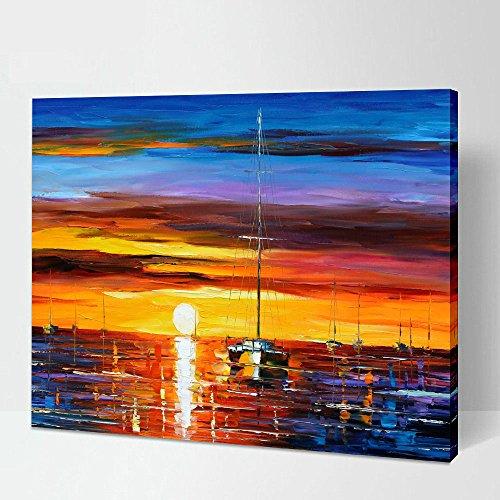 305-x-406-cm-avec-encadree-sunrise-paysage-illustrations-peintures-par-leonid-afremov-des-impression