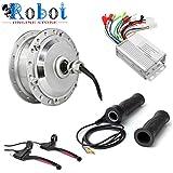 Robot Online Store 24V 250W Brushless Gear rear Hub Motor E-Bike Motor Wheel Drive Kit+e break