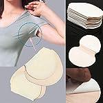 Kitchenware Tools Sweating stickers,Lanspo 6pcs Underarm Adhesive Sweat Pad Armpit goodbye Antiperspirant Deodorant Deoderant Universal underarm sweat sweat-absorbing stickers (White, Free post)