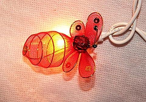 Magical Garden Bumblebee Bee Bug Multi-coloured Fairy Light