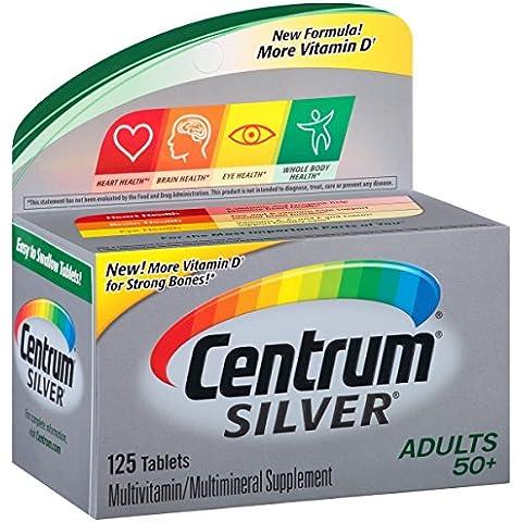 Centrum - argento multivitaminico/Multimineral per adulti 50