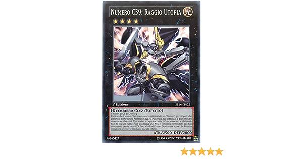 NUMERO C39 RAGGIO UTOPIA SP14-IT022 comune in Italiano YUGIOH STAR PACK