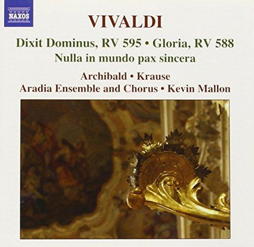 Dixit Dominus RV 595, Gloria RV 588, Nulla in mundo pax sincera RV 630, Jubilate RV 639 - Antonio Vivaldi