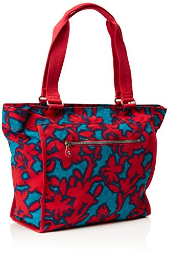 Kipling New Shopper S, Cabas Multicolore (Funky Flower C)