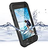 Coque iPhone 6 Plus, 6S Plus ZVE Housse Etui Etanche IP68 Antichoc Antipoussière Neige Anti Pluie Boitier Couvercle Sport Pare-chocs Protection d'Ecran pour iPhone 6S Plus / 6 Plus 5.5