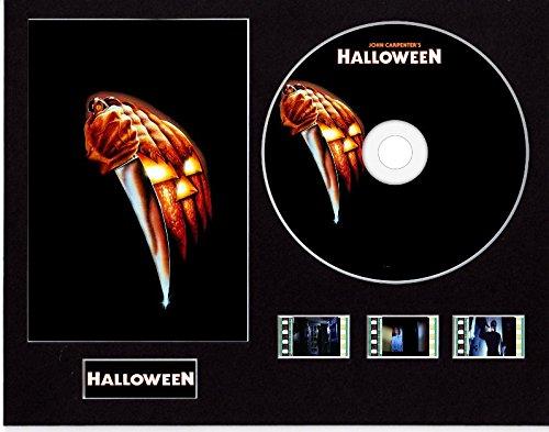 Generic Halloween (1978) Film Cell Style Display 10x 8montiert mit CD & 3Zellen, Ungerahmt 2, 25 x 20 cm
