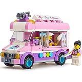 ZaiQu Kinder Aufklärung Bausteine City Puzzle Montage Jungen Szene Simulation EIS Auto Feuerwehrauto Polizei Auto Express Spielzeug (größe : A)