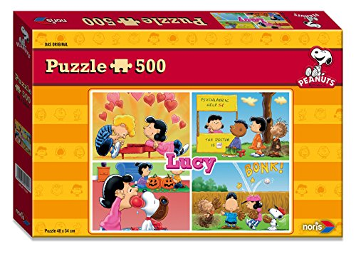 00 - Peanuts Lucy Puzzle, 500-teilig (Snoopy Puzzle)