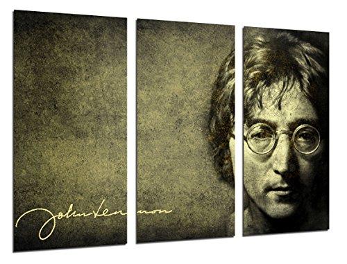 Quadro moderno fotografico John Lennon, the Beatles, leggenda Musica, 97x 62cm, rif. 26499