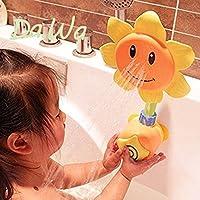 Da.Wa Duschspielzeug Baby Badespielzeug Sonnenblume Dusche Spray Bad Spiel Geschenke