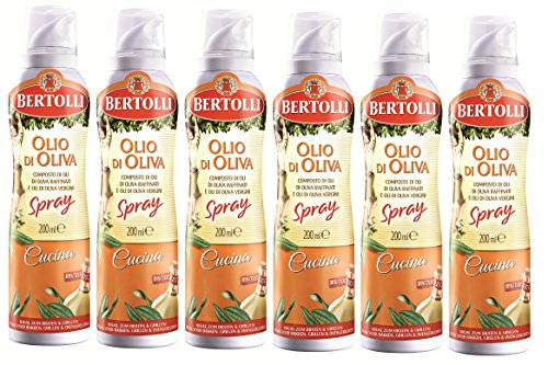 Bertolli Cucina Olivenöl Spray 6 x 200ml (Cucina Olivenöl)