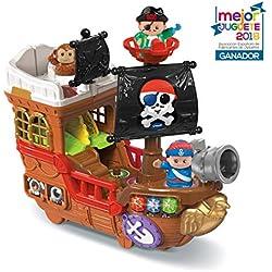 VTech Barco pirata, cazatesoros transformable en isla.