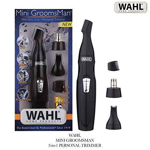 8. Wahl 5608-524 3 in 1 Mini GroomingTrimmer For Men