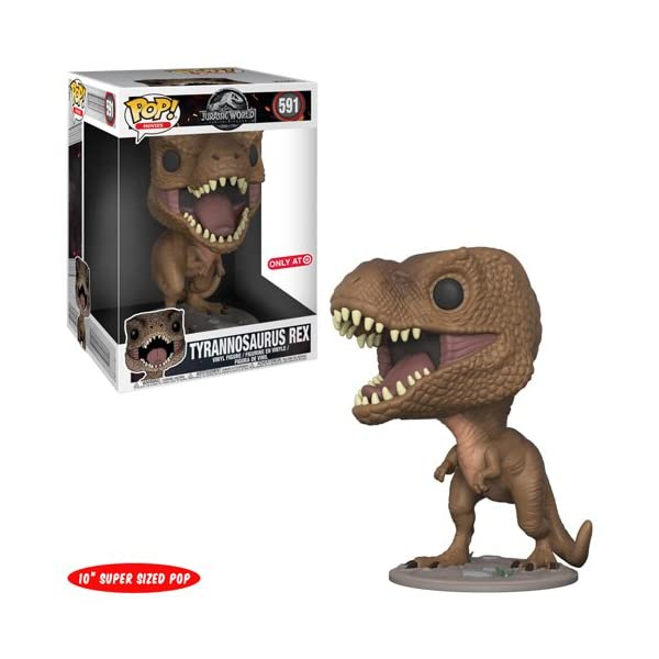 Funko Pop Tyrannosaurus Rex 10″ (Jurassic World 591) Funko Pop Jurassic World