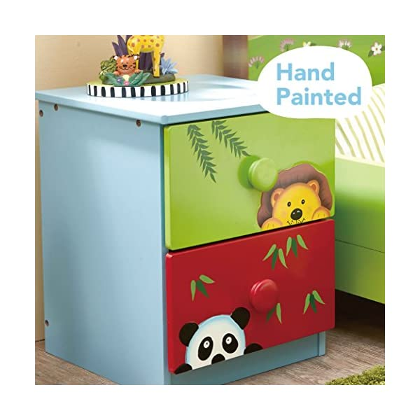 Fantasy Fields by Teamson Sunny 14 Fantasy Fields By Teamson Versatile storage unit to make tidy up time fun.  Multifunctional and robust design.  Dimensions 40 x 40 x 54.93 cm Sturdy and free standing. Suitable for Kids Bedroom and Playroom enchancing your little ones organisational skills Teach your kids colour and character recognition and enhance their imaginative minds.  Great for encouraging children's independence 3
