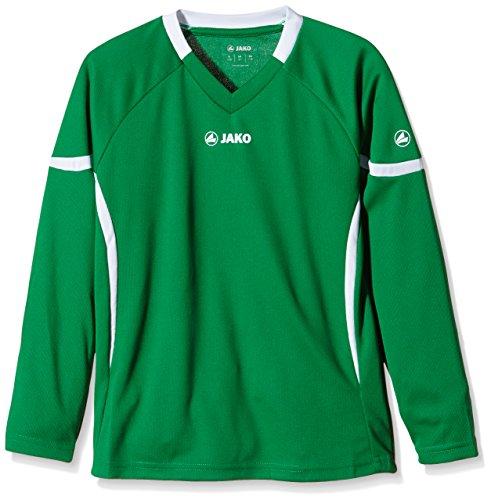 Jako Maglietta Joker LA Blu cielo/Blu mare Verde (Sportgrün/Weiß)