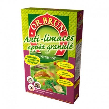 Traitement des insectes - Anti-limaces Ferramol 400g - Or Brun