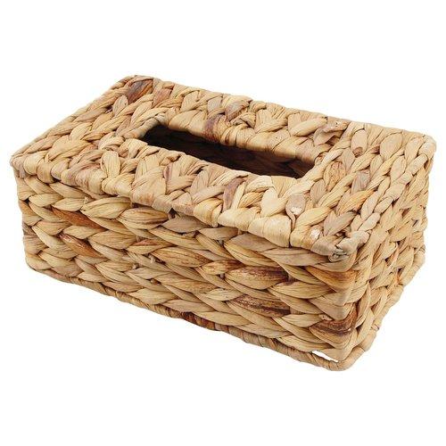 tissuebox aus wasserhyazinthe box f r kosmetikt cher taschentuchbox kosmetikt cherbox ean. Black Bedroom Furniture Sets. Home Design Ideas