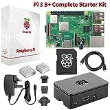 Raspberry Pi 3 B+ Complete Starter Kit Beginner Set w/ Pi3 B+ Motherboard,...