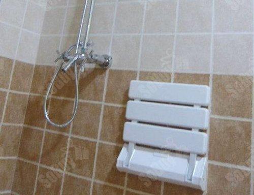 Yaekoo sgabello da muro sedile da doccia pieghevole sedile da