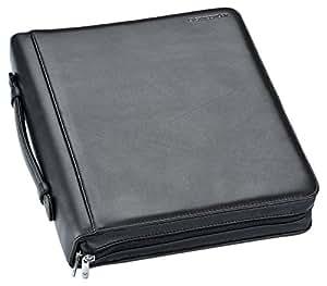 Staedtler Initium - Accessoires - Conférencier en Cuir Noir - Format 34,5 x 30,0 x 5,0 cm
