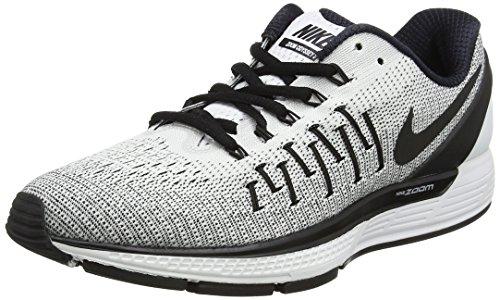 Nike Damen Wmns Air Zoom Odyssey 2 Laufschuhe, Weiß (White/Black), 37.5 EU (Schuhe 2 Wmns Running)