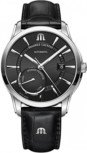 Maurice Lacroix PONTOS POWER RESERVE PT6368-SS001-330-1 Automatic Mens Watch Classic & Simple