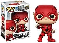 Retrouvez Flash, scientifique de la police de Central City ayant notamment comme super-pouvoir la super-vitesse, dans une figurine Pop! DC.  Sa tenue vient du film Justice League, elle est extrêmement détaillée et d'une grande finesse. Les couleurs s...