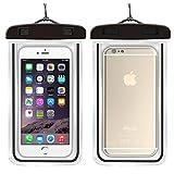 ILOVEDIY Wasserdichte Handyhülle Schützhülle für iPhone Samsung Huawei viele Smartphone (Schwarz)