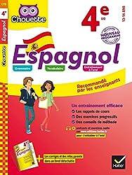 Espagnol 4e: LV2 2e année (A1 vers A2)