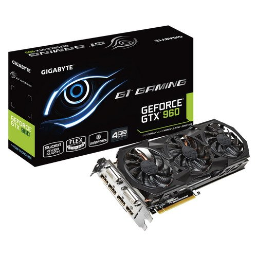DIA GTX 960 Gaming G1 Grafikkarte (PCIe, 4GB GDDR5 Speicher, DVI-D/I, HDMI, 3X DisplayPort, 1 GPU) ()