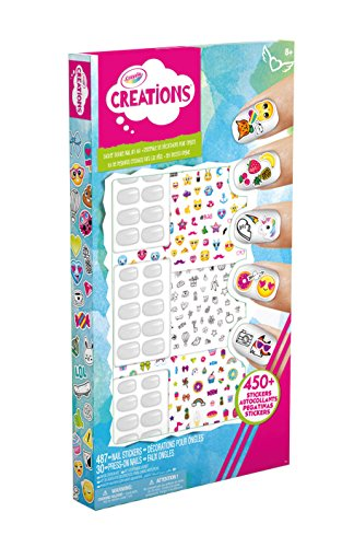 Crayola- set decora unghie creations, 04-8066