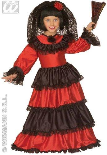 Spanierin-Kostüm für Mädchen - 3-5 (80 70 Kostüme Und Fancy Dress)