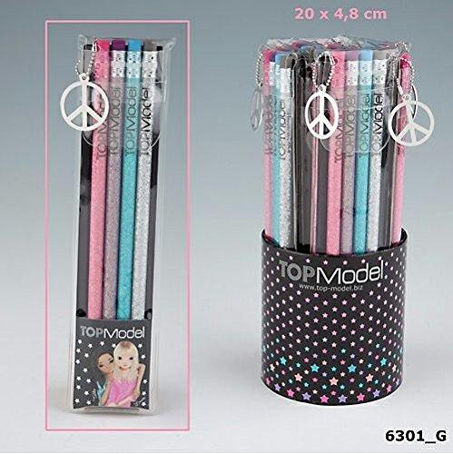 Topmodel 4er Bleistiftset Glitter Art.6301_G1