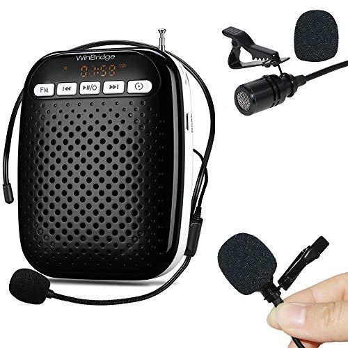 Amplificador voz WinBridge Recargable portátil conexión