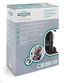 PetSafe - Collier Anti-Aboiements Rechargeable pour Grand Chien, Reconnaissance Vocale, Automatique, Imperméable, 3 modes de Fonctionnement pour un Dressage Personnalisé pour gros Chien