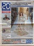 20 MINUTES [No 2296] du 06/07/2012 - SYRIE - UNE CENTAINE DE PAYS SE REUNISSENT A PARIS - FASHION WEEK - DU REVE AU PODIUM - FOOT - PATRICK BATTISTON - AGROALIMENTAIRE - BIENTOT DES CHIPS A BASE DE VERS DE FARINE